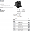 OSRAM HQI-TS 2000W/D/S CABLE BALLAST HQI 2000L-09 240/50 100A196 89120365 TRIDONIC