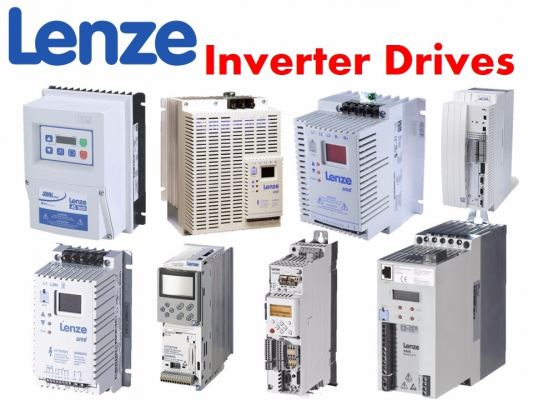 E82EV251K2C200 LENZE 8200 Vector Frequency Inverter Drives 220VAC 0.25KW
