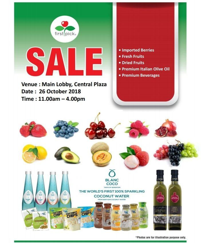 Fruit Promotion Coming Back @ 26th Octobe 2018