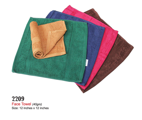 2209 Face Towel (40gm)