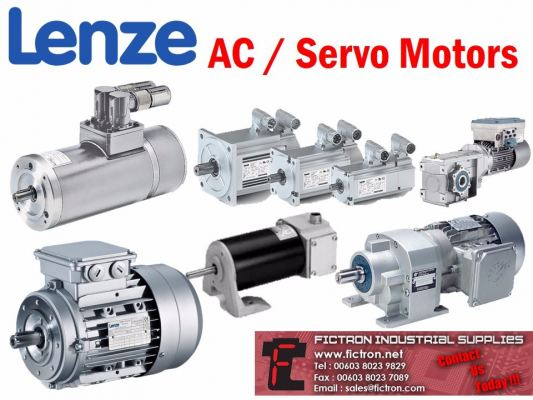13.750.65 LENZE Three-phase Asynchronous Motors 180W 1350rpm 230,400V (Ribbed Housing)
