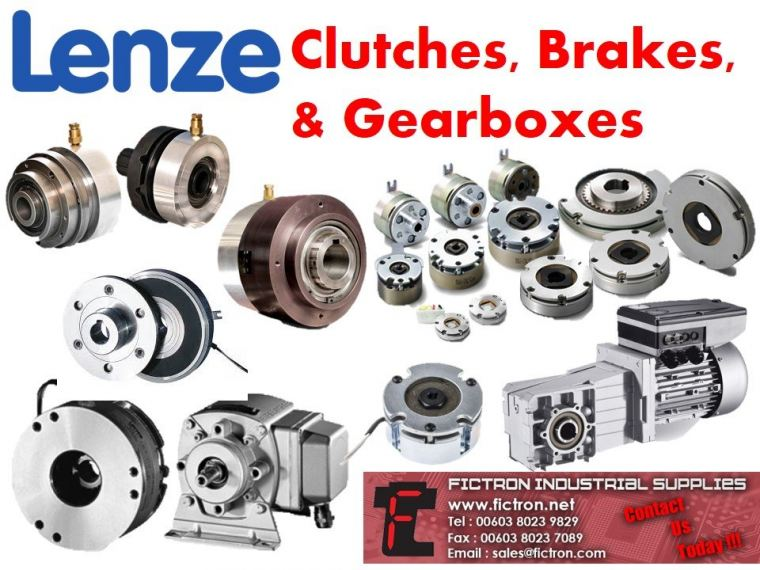 LENZE Clutches, Brakes, & Gearboxes Supply