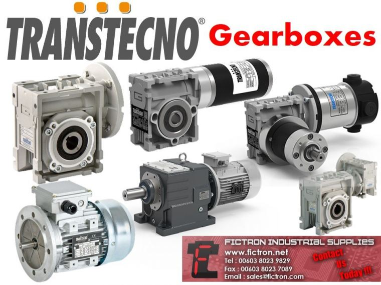 TRANSTECNO Gearboxes Supply