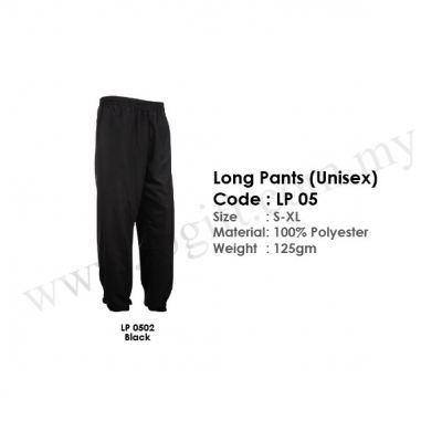 Long Pants (Unisex) LP 05