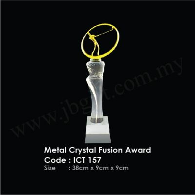 Metal Crystal Fusion Award ICT 157