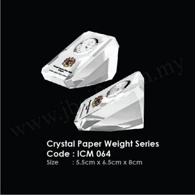 Crystal Paper Weight Series ICM 064