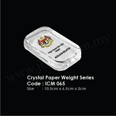 Crystal Paper Weight Series ICM 065