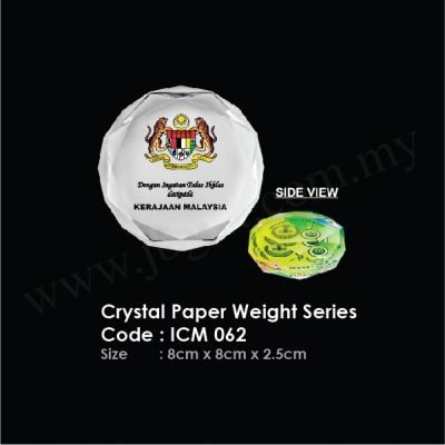 Crystal Paper Weight Series ICM 062