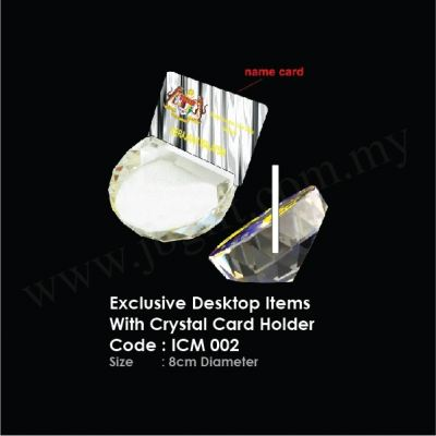 Exclusive Desktop Items With Crystal Card Holder ICM 002