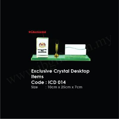 Exclusive Crystal Desktop Items ICD 014