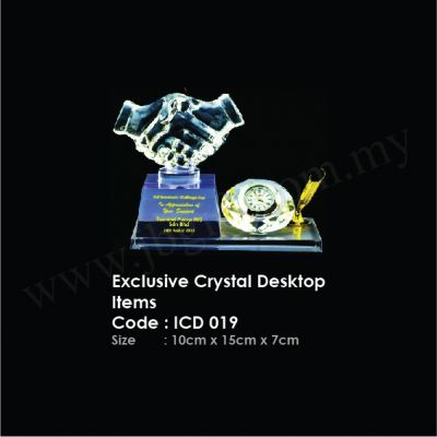 Exclusive Crystal Desktop Items ICD 019