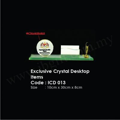 Exclusive Crystal Desktop Items ICD 013