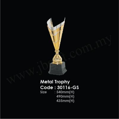 Metal Trophy 30116-GS