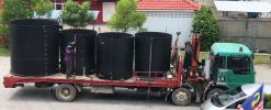 DLM - Open Top HDPE Tanks DLM HDPE Spiral Type Storage Tank