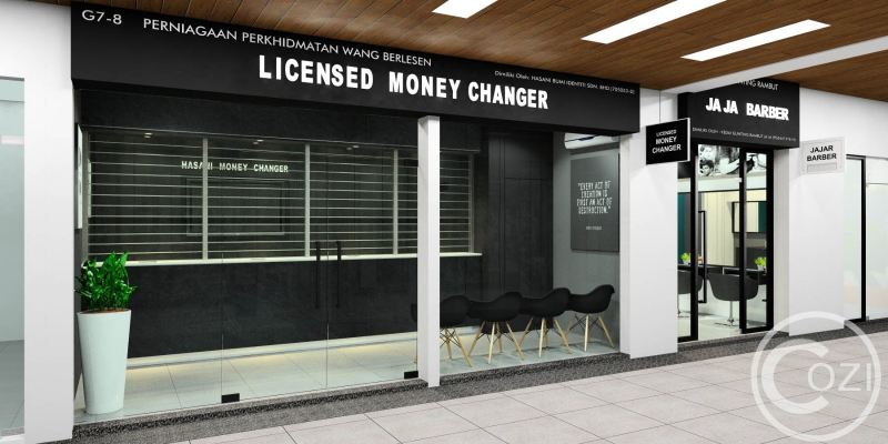 Licensed Money Changer at Design Village