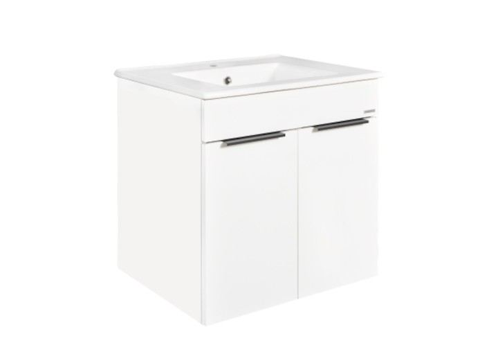 Parma 600 White Johnson Suisse   Cabinet Basin