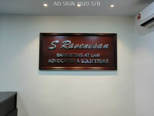 Stainless Steel 3D signage (Indoor)