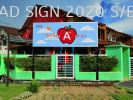 Kindergarden signboard non light Education / Day Care / Tadika Signboard without Light