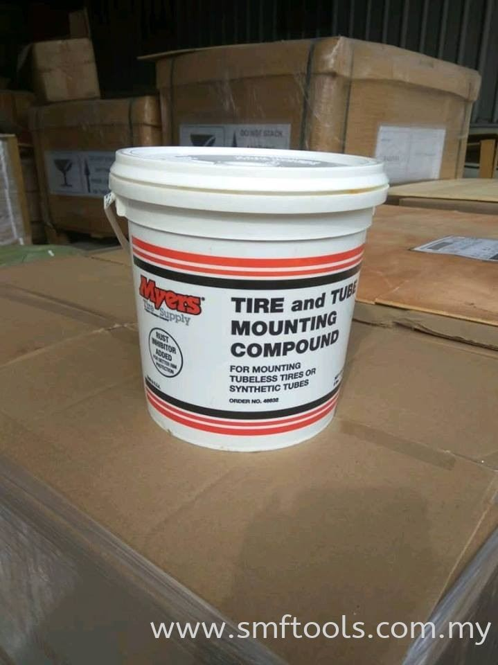 MYERS 3.7KG Tyre Mounting Compound Cements, Chemicals, and Mounting Lubricants Tire Repair Materials