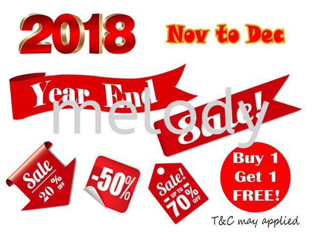 2018 Year End Sale