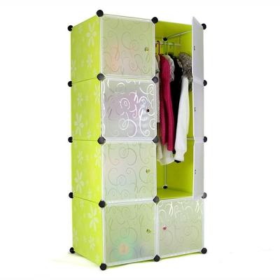 8 Cubes Stackable Wardrobe Organisers Rack