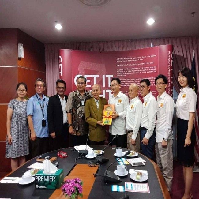 BERNAMA Chairman wish to promote Sino-M'sia relationship M'sia News