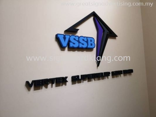 VSSB 3D Box Up Lettering Signage at Bukit Tinggi Klang