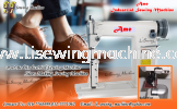 Shoes Sewing Machine - Leather - PVC  Leather Sewing Machine
