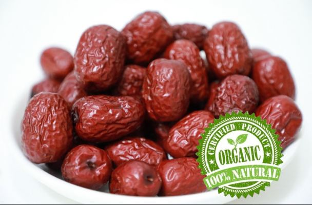 Premium Ruoqiang County Red Date (优特级)超大有机红枣 1kg