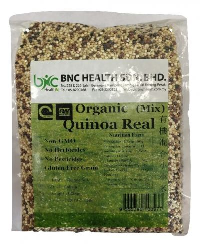 BNC - Organic Mix Quinoa Real Óлú»ìºÏÐ¡Ð¡Ã× (500g/pkt)