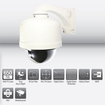 SV937OD High Speed Dome Camera Outdoor, WDR (37x)