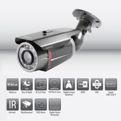 WV560IR Infra Red Weatherproof Camera Widelux, 70M