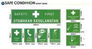 Safety Condition Safety Signs Safety Signs Safety PPE - Personal Protective Equipment