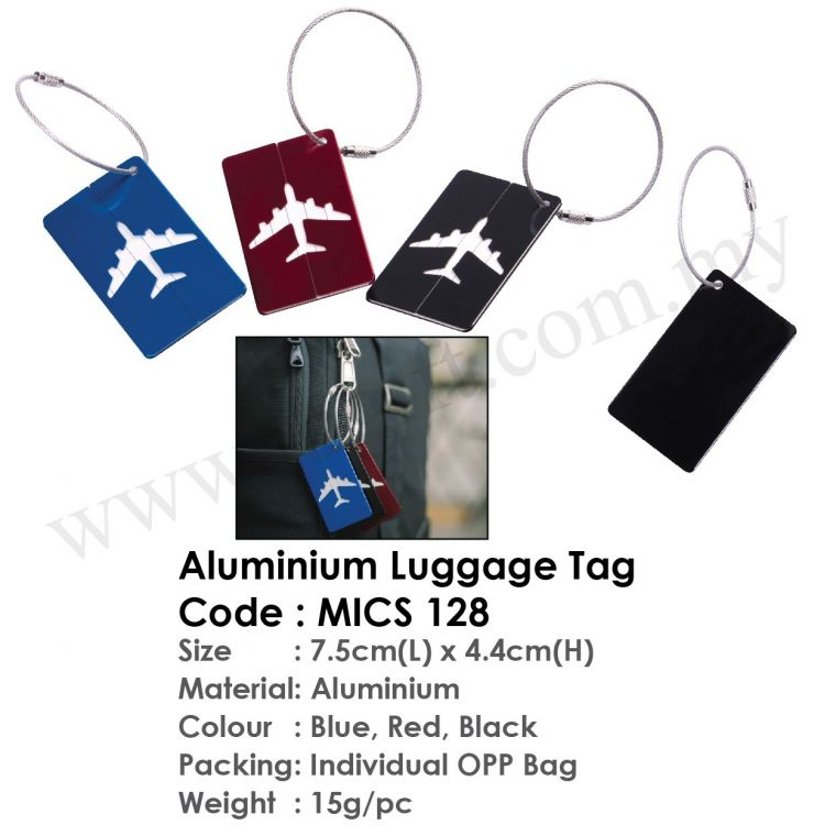Aluminium Luggage Tag MICS 128 Others