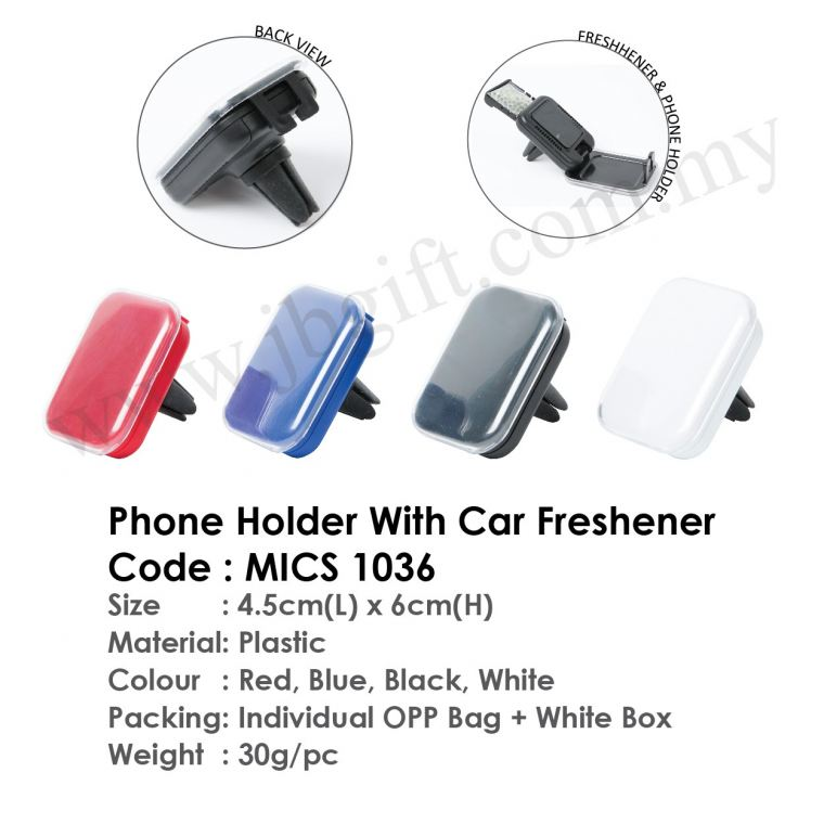 Phone Holder With Car Freshener MICS 1036 Others