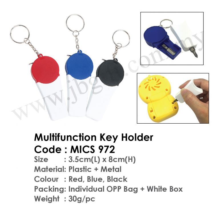 Multifunction Key Holder MICS 972 Key Chain