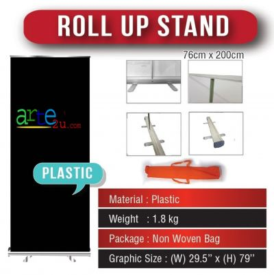 Selangor | Kuala Lumpur | Signboard Design | Roll Up Stand With 1440dpi Printing