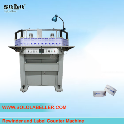 Rewinder and Label Counter Machine