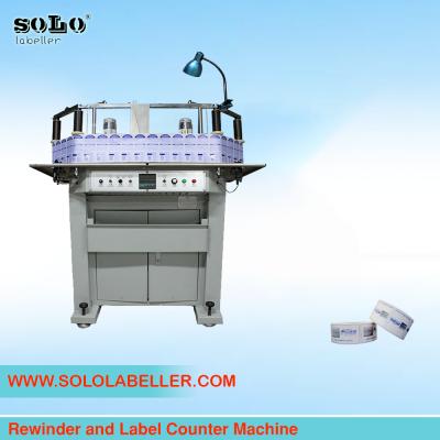 Rewinder and Label Counter Machine