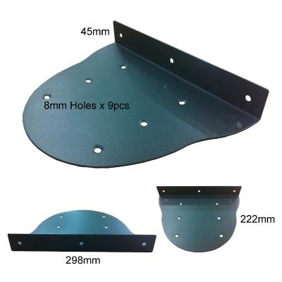 L Shape Metal Plate LYZO