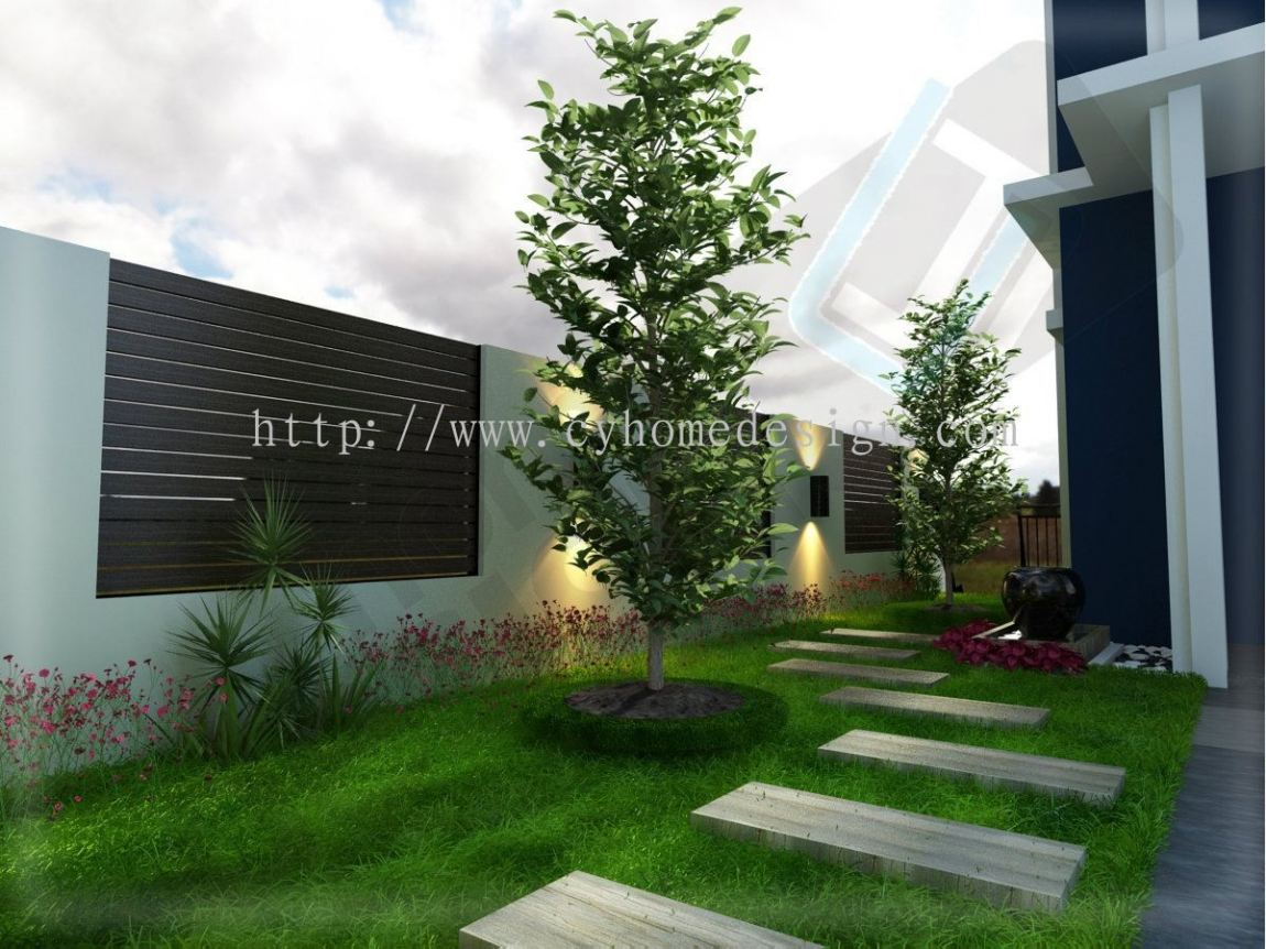 Outdoor 3D Design Outdoor / Exterior Drawing  3D Design Drawing