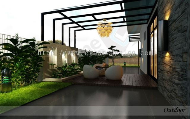3D Outdoor Design Drawing