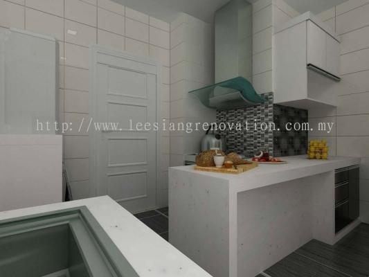 Kitchen Cabinet Design 3D