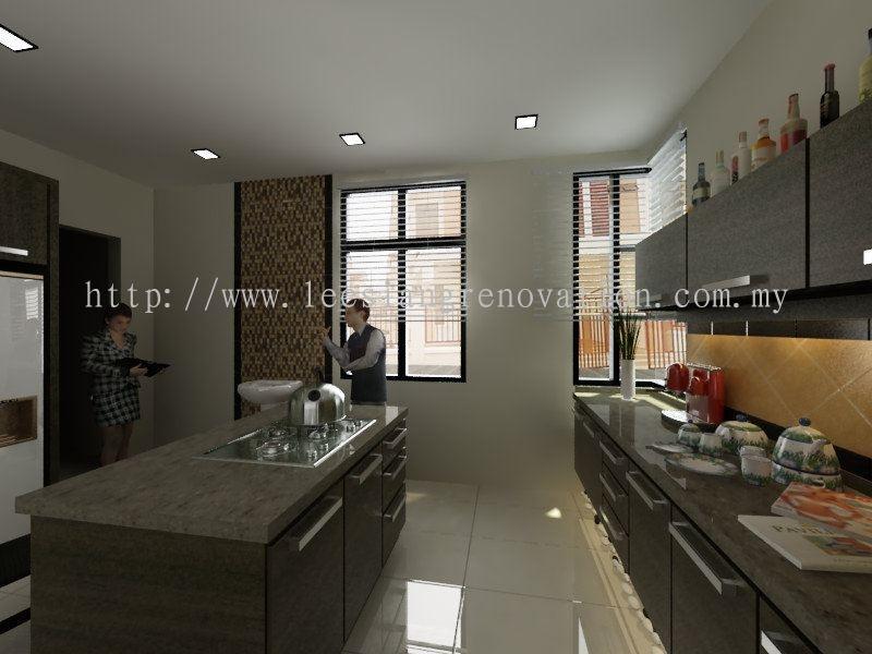 Kitchen Cabinet Design 3D Kitchen 3D Design Drawing