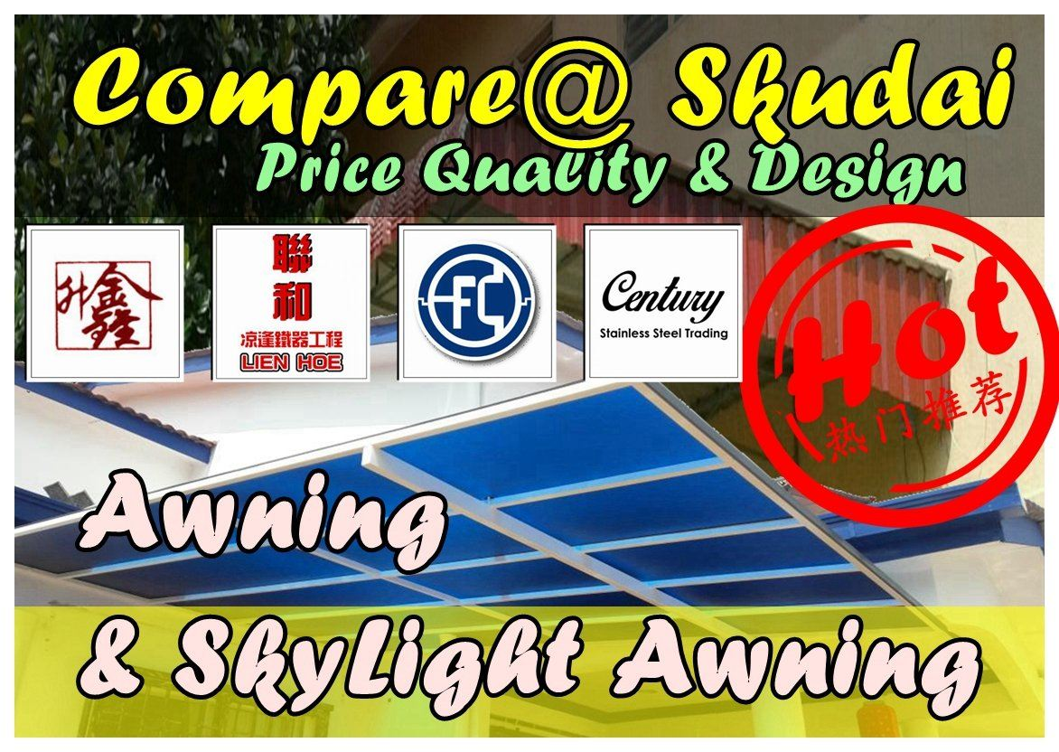 Compare Awning Price Quality & Design In Skudai Iron Factory