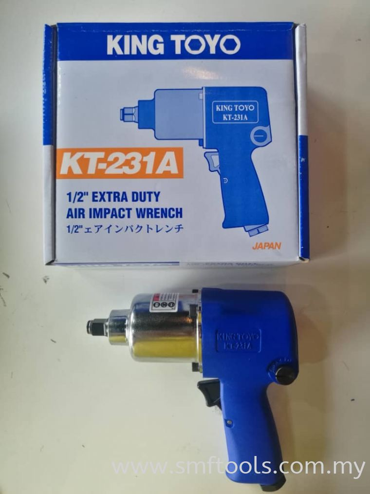 King Toyo KT-231A Extra Heavy Duty Air Impact Wrench Impact Wrench Vehicle Repair Equipment