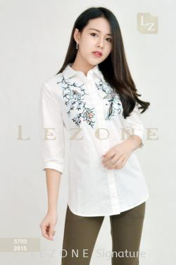 5703 EMBROIDERED FLORAL BLOUSE 【BUY 2 FREE 3】