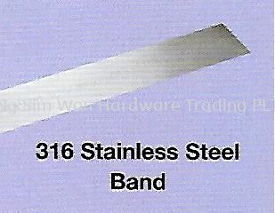 COATED & UNCOATED STAINLESS STEEL 316 BAND