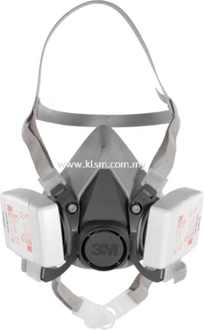 3M HALF-FACE MASK SET WITH EXCHANGEABLE FILTER