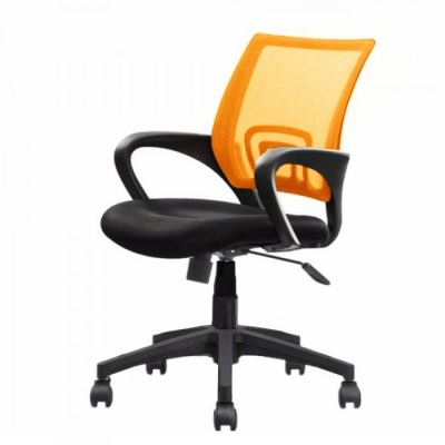 Adjustable Swivel Mesh Office Chair with PVC Nylon Leg